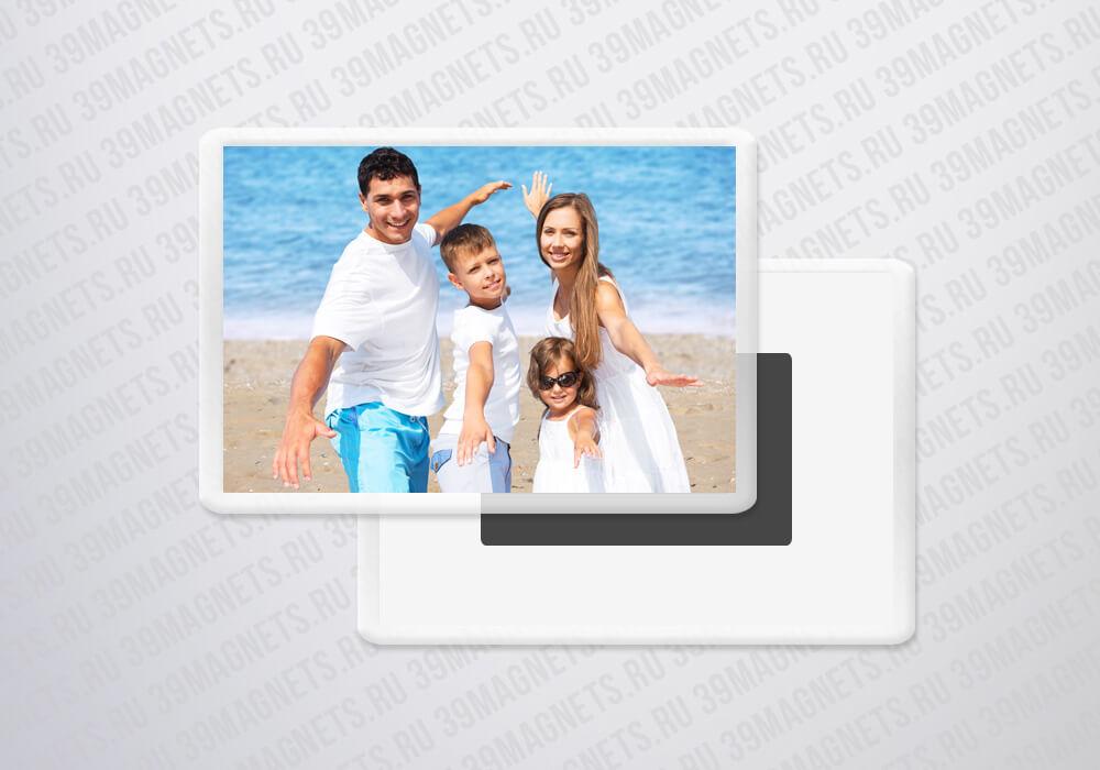 Акриловый фотомагнит 5.2*7.7 см.