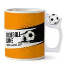 Печать на кружке футбольной с мячиком