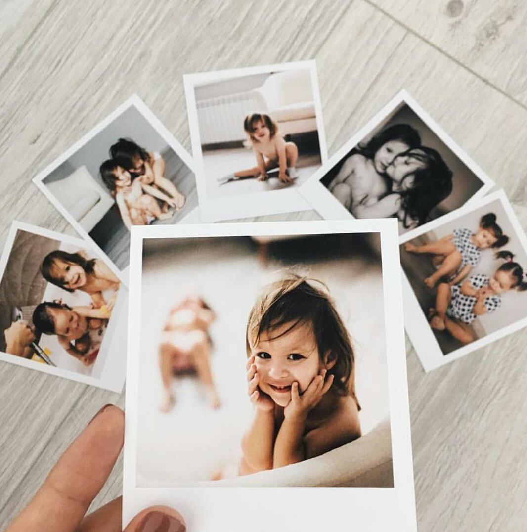 Печать фотографий с белыми полями движения