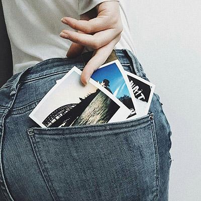 Фото в формате Полароид (Polaroid) печать онлайн на заказ