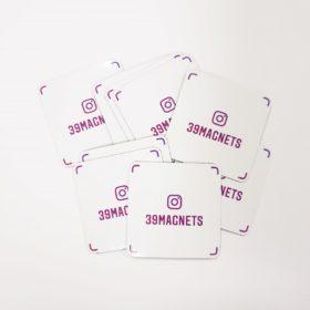 Магниты с Инстаграм-визиткой