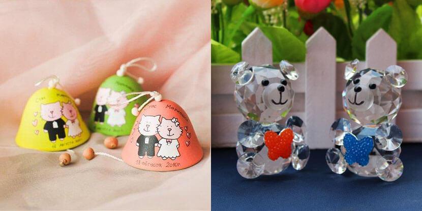 Подарки гостям на свадьбу: фигурки