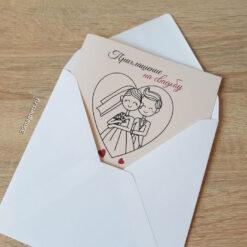 оригинальные пригласительные на свадьбу