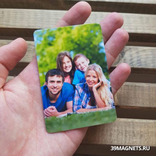 Виниловый фотомагнит 6 * 9 см.