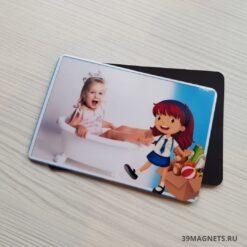 Магнит с фото для девочек печать