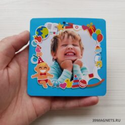 Детский магнит с игрушками