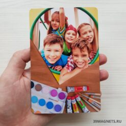 Печать детских магнитов на заказ