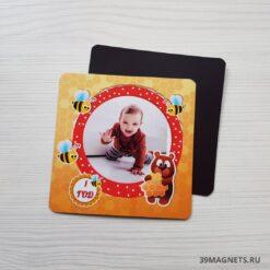 Детский магнитик печать на заказ