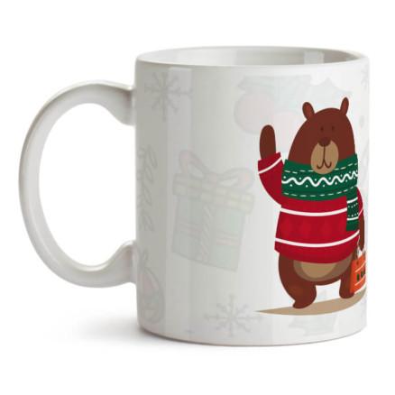 "Кружка с медведем ""Я коплю жир..."""