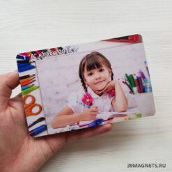 Школьный магнит с карандашами