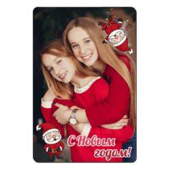 Магнит новогодний с Дедом Морозом