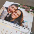 Календарь новогодний с еловой веткой на 2019 год