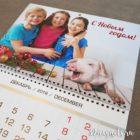 Календарь 2019 новогодний на год свиньи