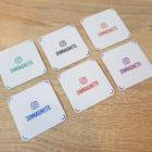 Печать магнитов с instagram-визиткой
