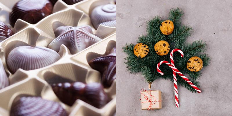Коробка конфет - классический подарок