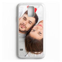Чехол для Samsung Galaxy S5, пластиковый, белый
