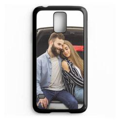 Чехол для Samsung Galaxy S5, пластиковый, черный