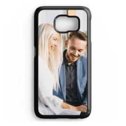 Чехол для Samsung Galaxy S6 EDGE, пластиковый, черный