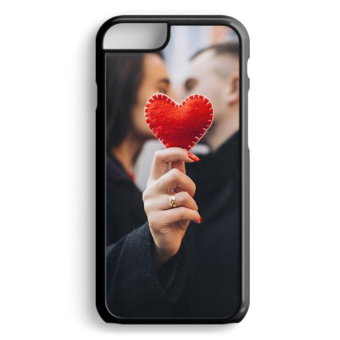 Чехол для iPhone 6 и 6S, пластиковый, черный
