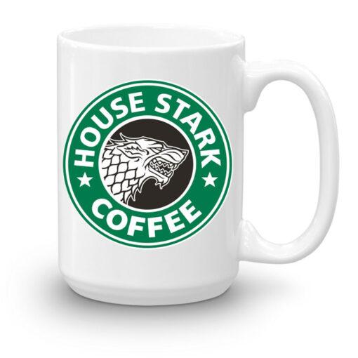 Кружка увеличенной емкости House Stark coffee