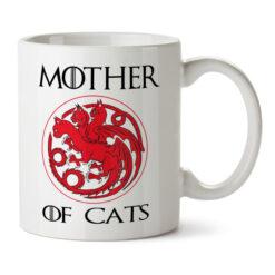 Кружка белая Mother of cats