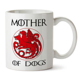 Кружка белая Mother of dogs