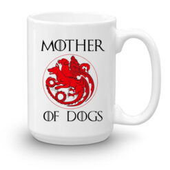 Кружка увеличенной емкости Mother of dogs