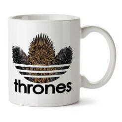 Кружка белая Thrones