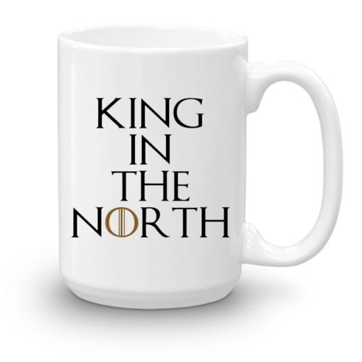 """Кружка увеличенной емкости """"King in the North"""""""