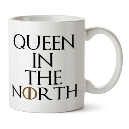 """Кружка белая """"Queen in the North"""""""