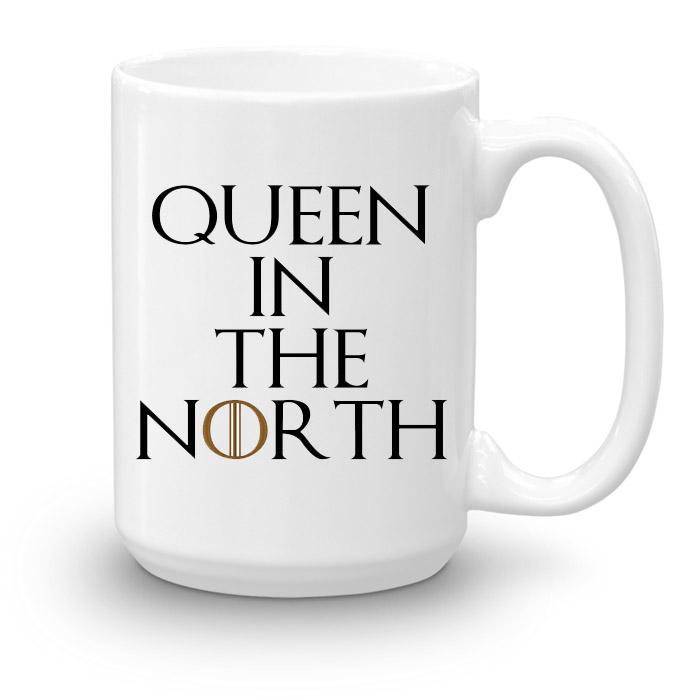 """Кружка увеличенной емкости """"Queen in the North"""""""