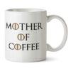 "Кружка белая ""Mother of coffee"""