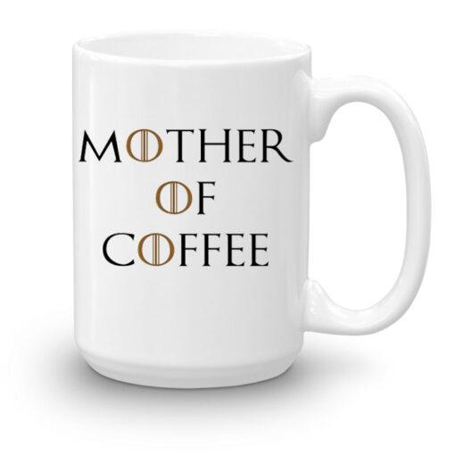 """Кружка увеличенной емкости """"Mother of coffee"""""""