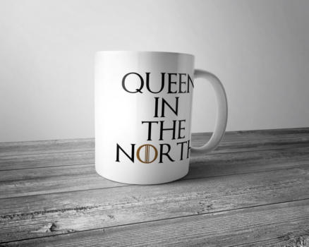 """Кружка """"Queen in the North"""""""