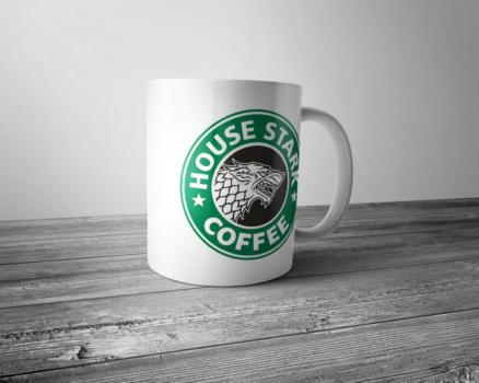 Кружка House Stark coffee