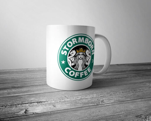 "Кружка ""Stormborn coffee"""