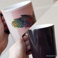 Кружка хамелеон на заказ