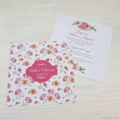 Приглашение на свадьбу «Летняя романтика»