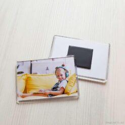 Акриловый магнит с фото 5.5*8 см.