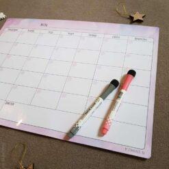 """Магнитный планер """"Вечный календарь"""", цветной"""