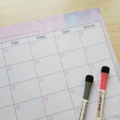 Магнитный планер «Вечный календарь», цветной