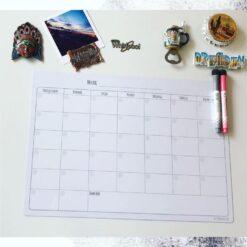 Магнитный планер «Вечный календарь», белый
