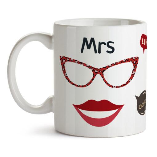 """Кружка """"Mrs"""""""